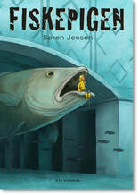 Fiskepigen forside - The Fish Girl Cover